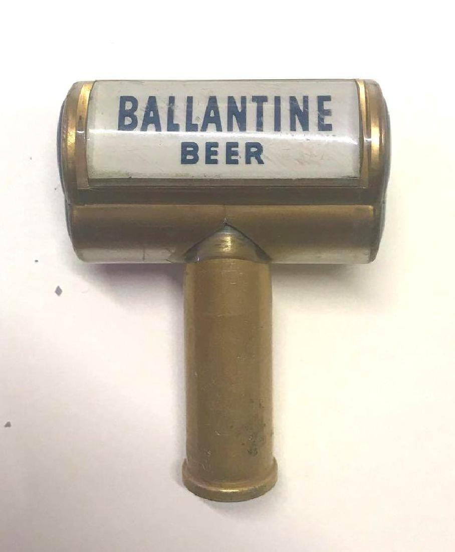 Vintage Ballantine beer tapper