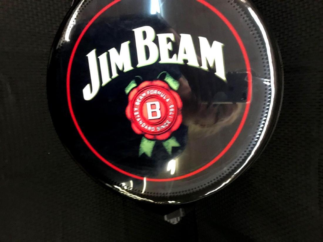 Jim Beam Rotating Pub Sign Light - 2