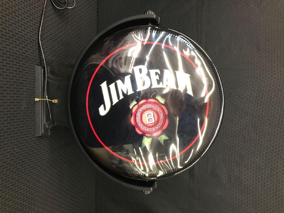 Jim Beam Rotating Pub Sign Light - 3