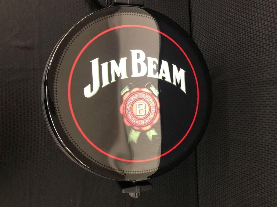 Jim Beam Rotating Pub Sign Light - 4