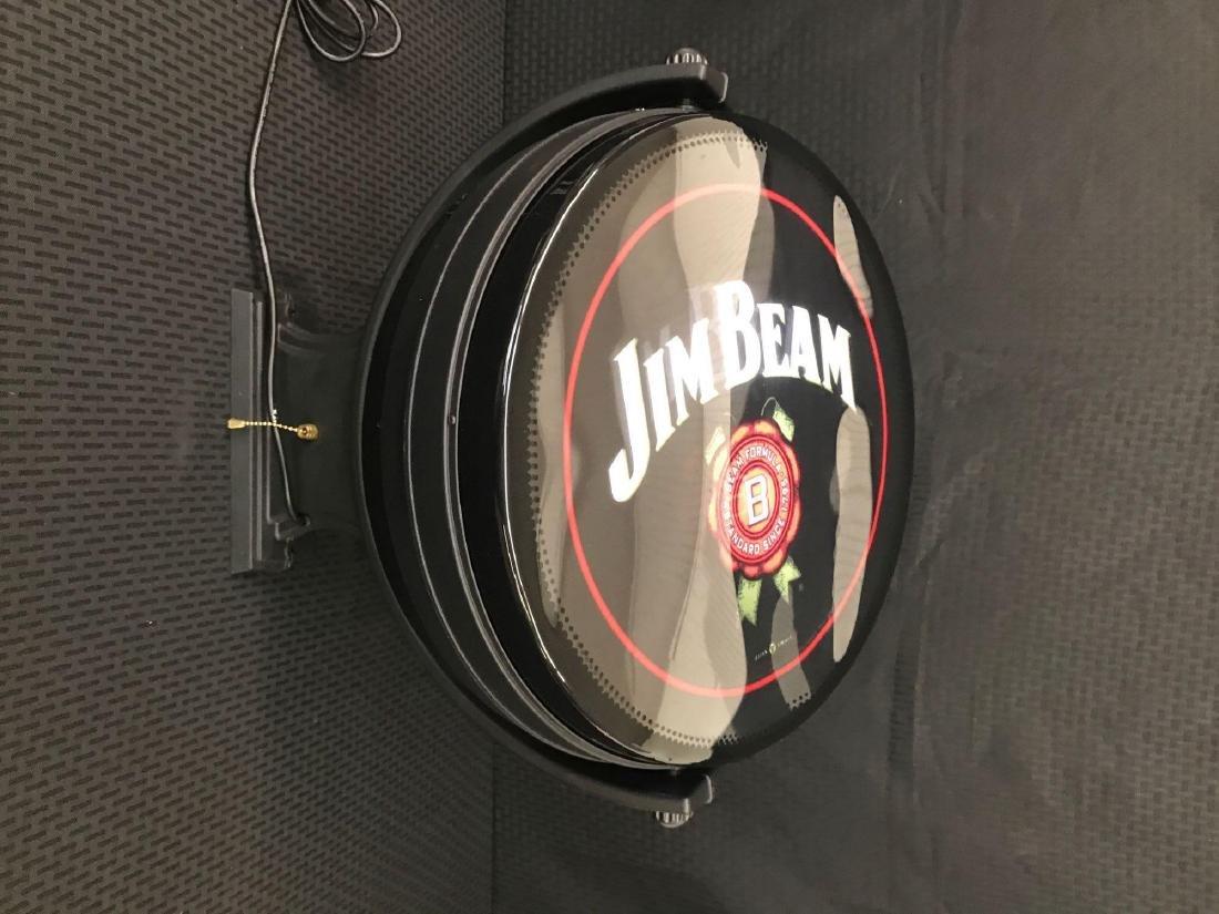 Jim Beam Rotating Pub Sign Light - 5