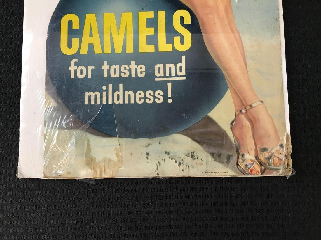 Camels Cigarette Advertising Stand Up - 2