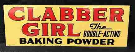 Clabber Girl Baking Powder Sign DST