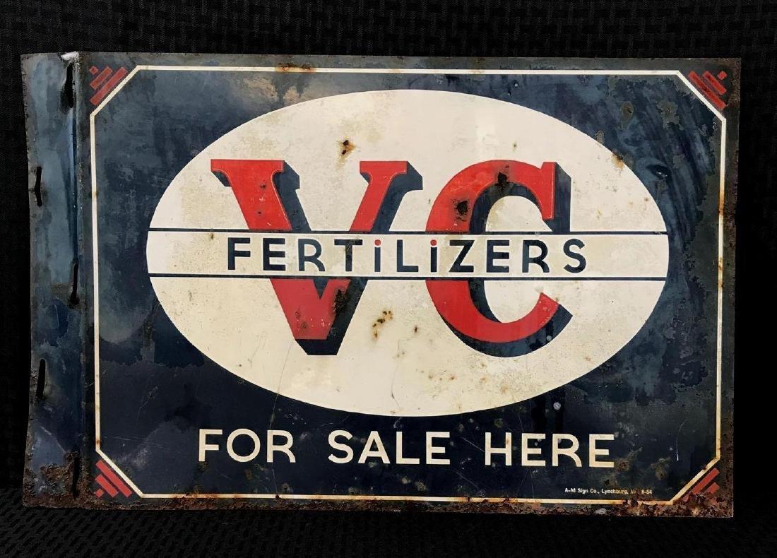 V-C Fertilizer DSP Flange Sign