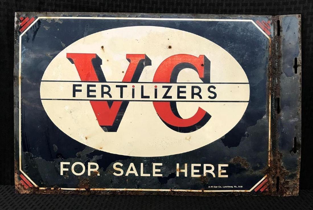 V-C Fertilizer DSP Flange Sign - 2