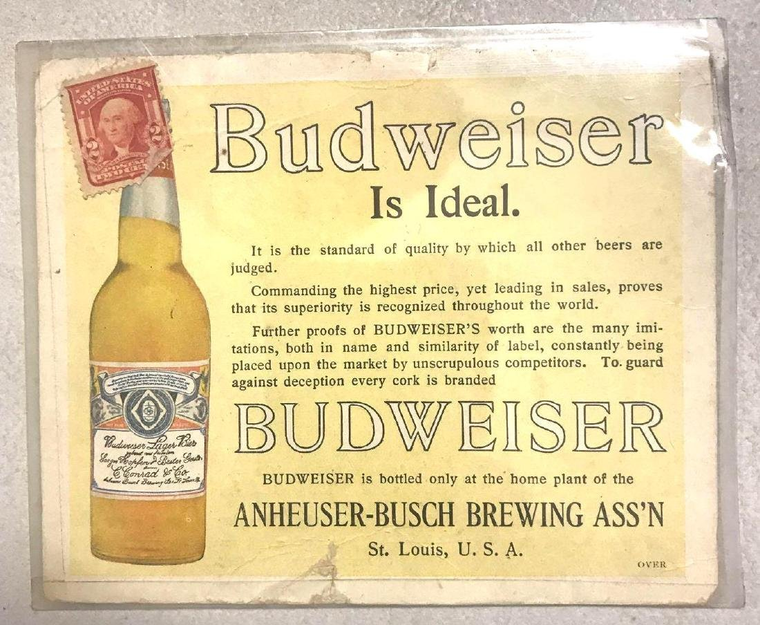 Budweiser Anheuser-Busch brewery association