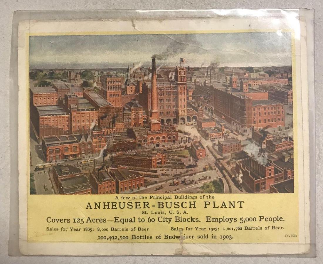 Budweiser Anheuser-Busch brewery association - 2