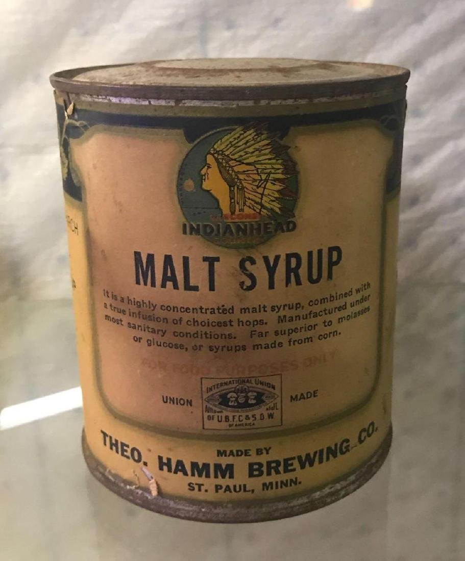 Indianhead malt syrup by hams brewing company