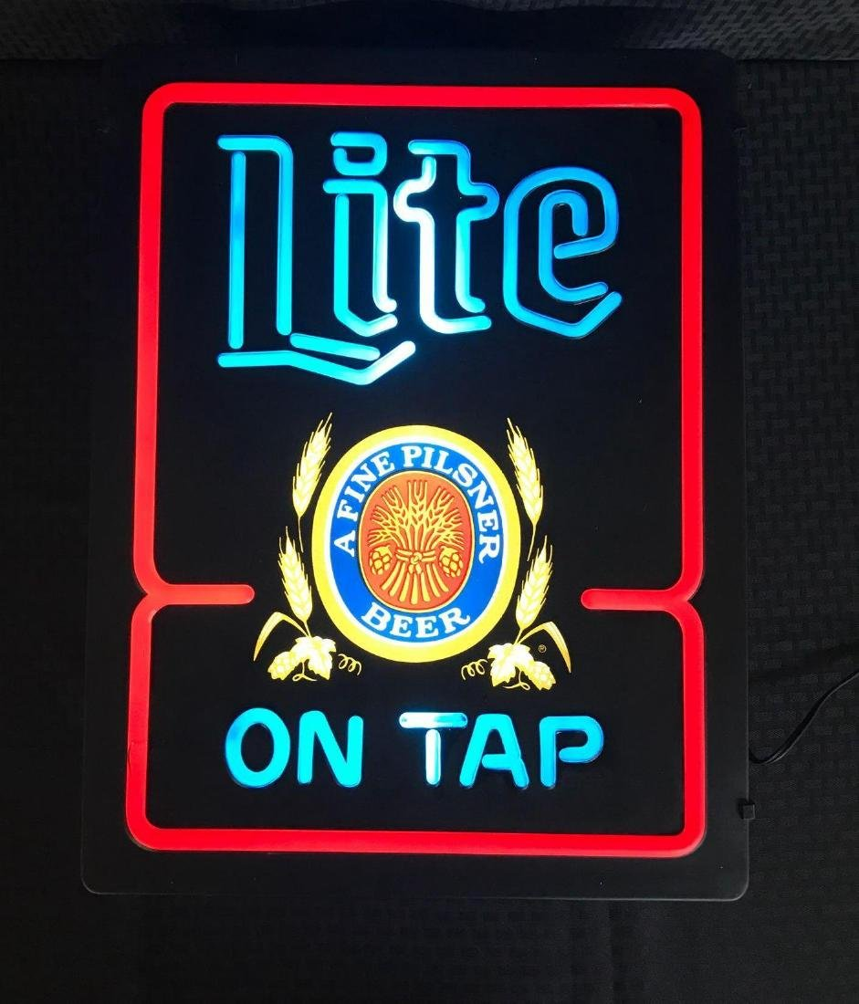 Lite Beer Light Up Sign