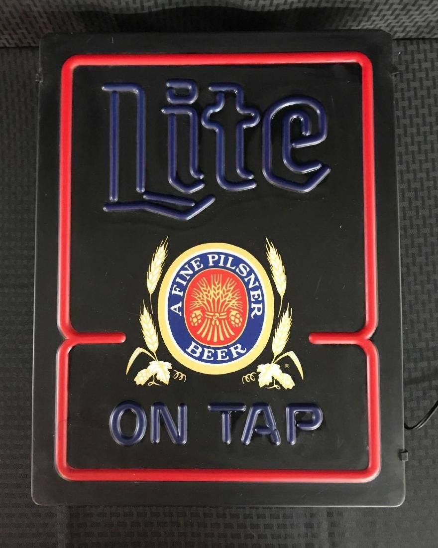 Lite Beer Light Up Sign - 2