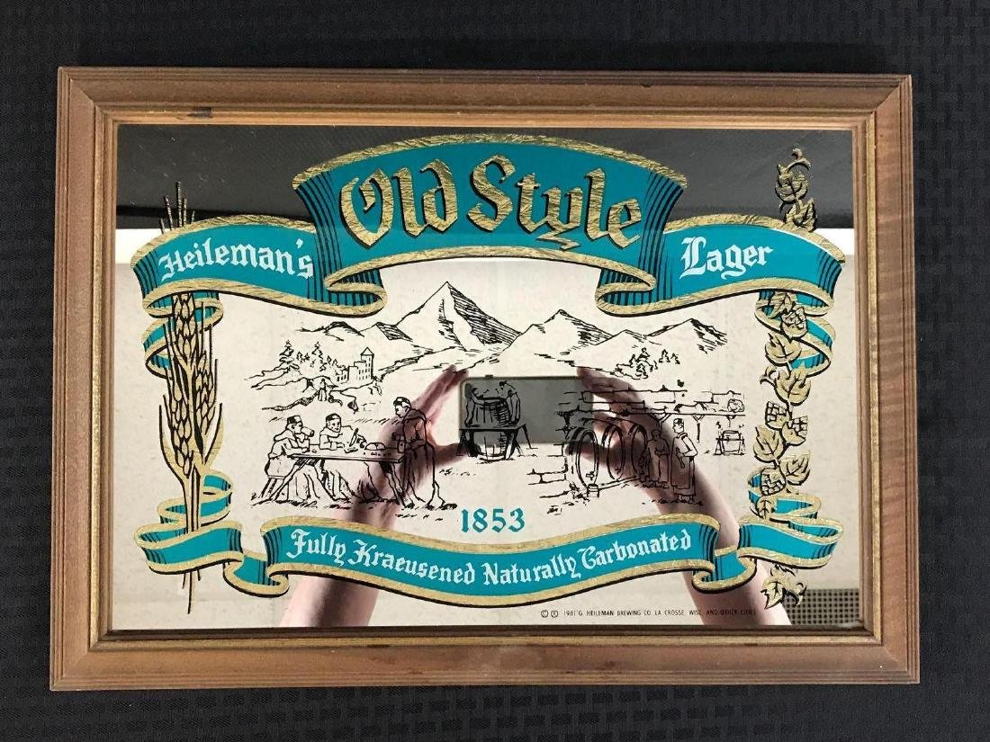 Old Style Lager Mirror