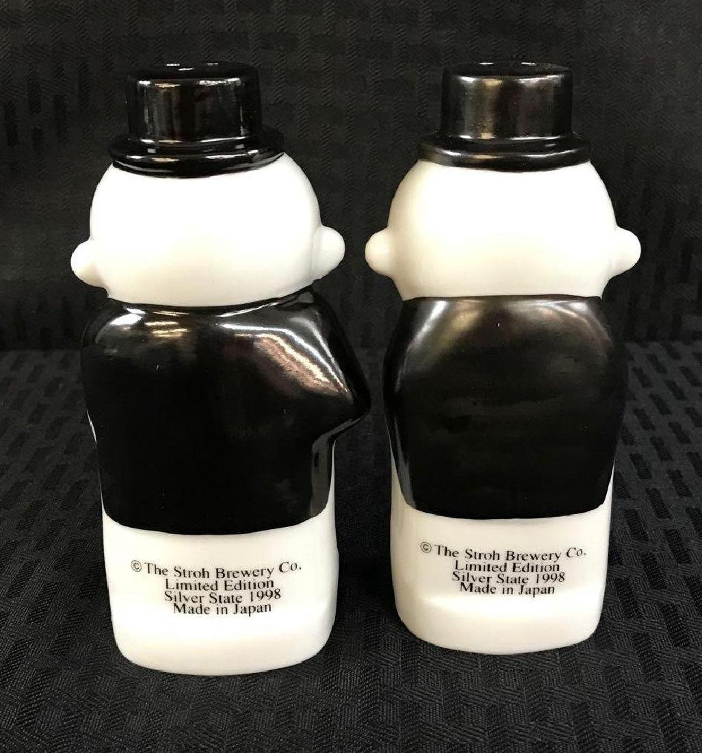 Strohs Burgie Salt and Pepper Shakers - 2