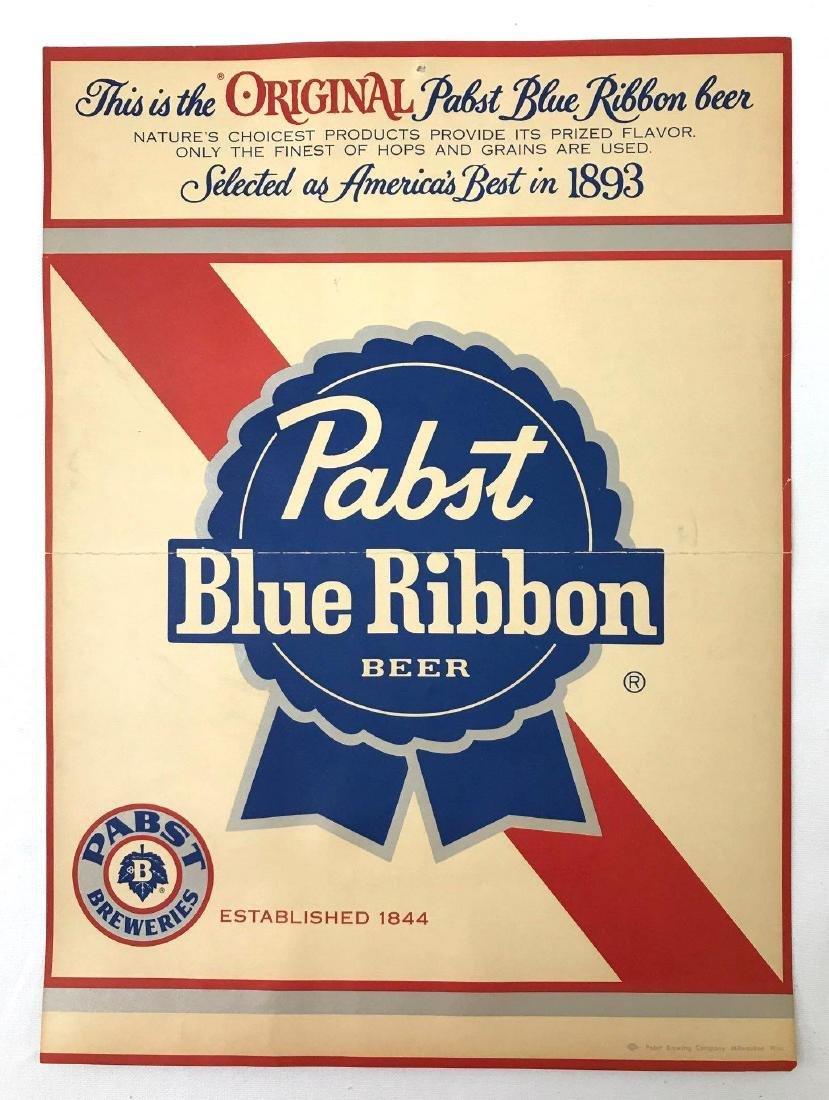 Group of 4 Pabst Beer Vintage Advertising Posters - 3