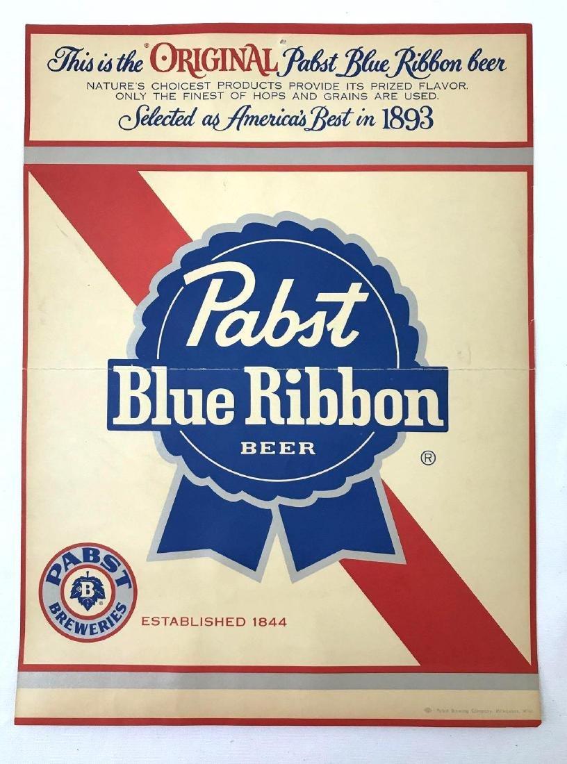 Group of 4 Pabst Beer Vintage Advertising Posters - 4
