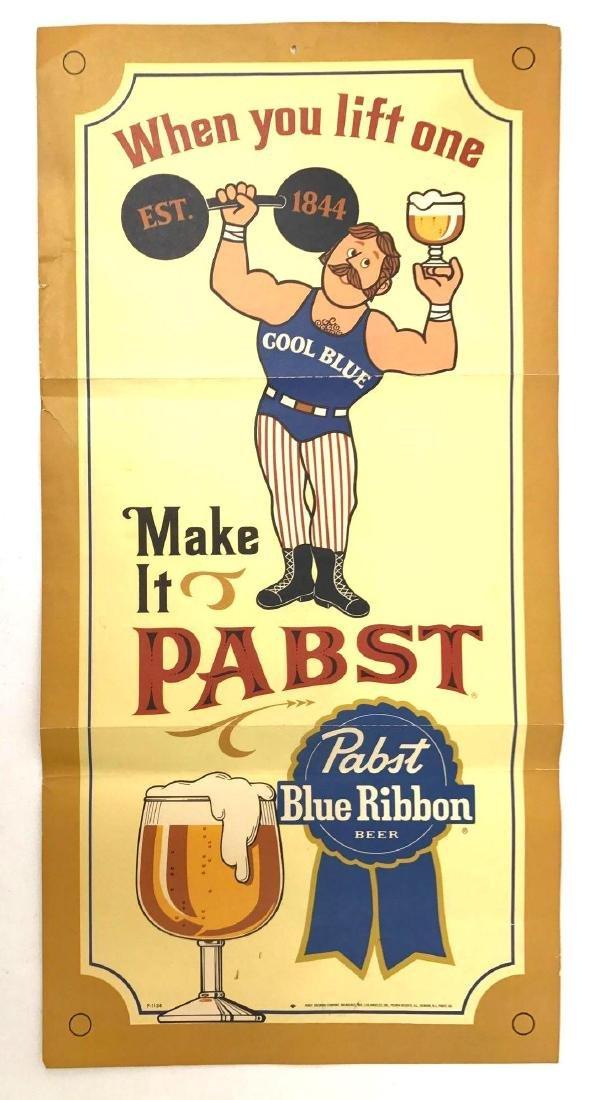 Group of 4 Pabst Beer Vintage Advertising Posters - 5