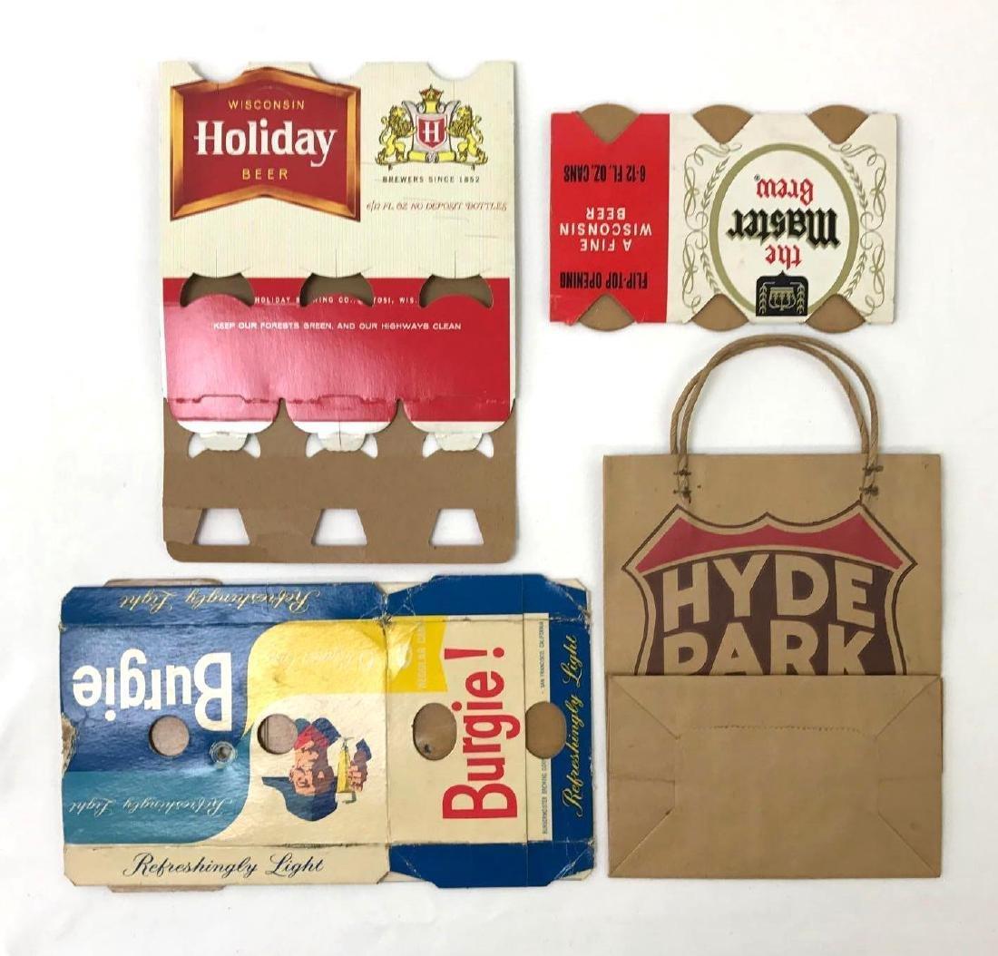 Vintage Advertising Beer Cases and Bag - 2