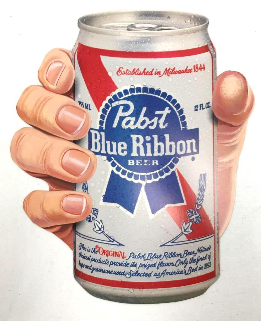Group of 5 Pabst Blue Ribbon Vintage Advertising Items