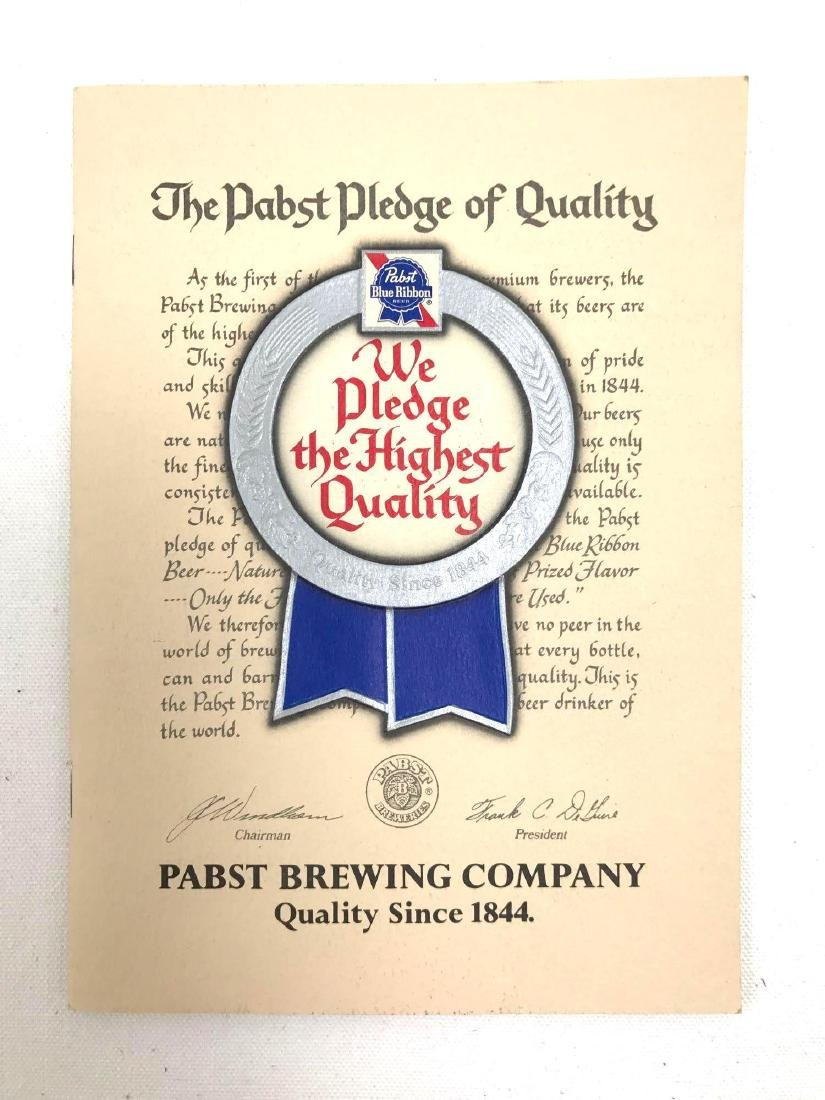 Group of 5 Pabst Blue Ribbon Vintage Advertising Items - 4