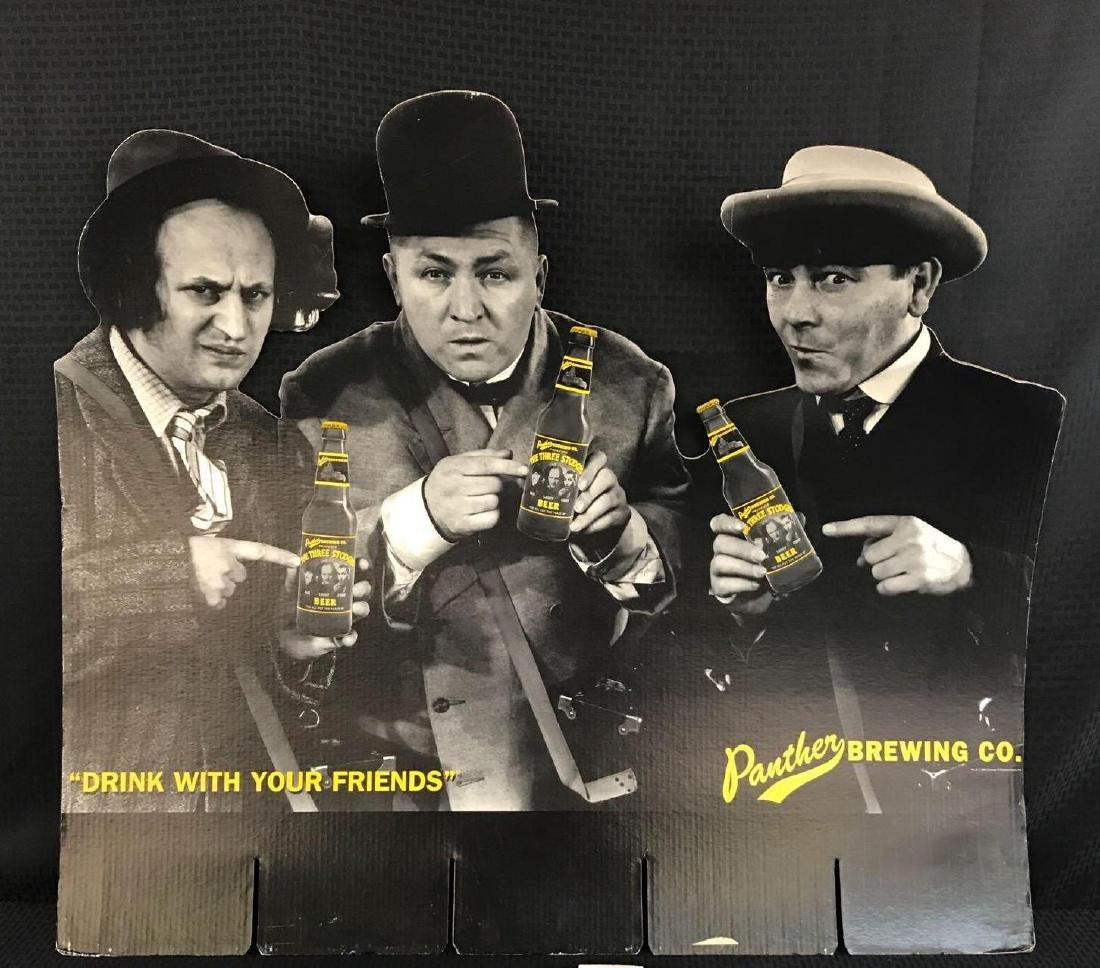 Three Stooges Beer Stand Up