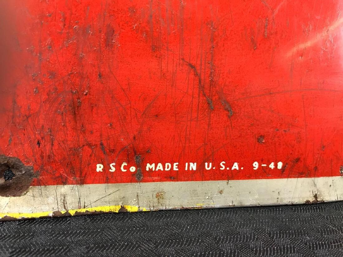 Vintage Coca-Cola SST Sign - 2