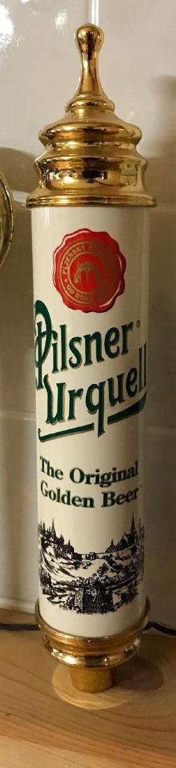 Pilsner Urquell advertising beer tapper - 2