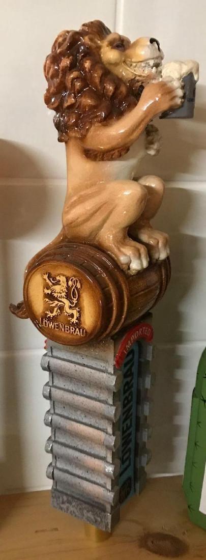 Lowenbrau advertising beer tapper - 3