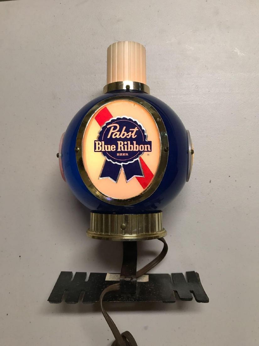 Vintage Pabst blue ribbon light up advertising cash