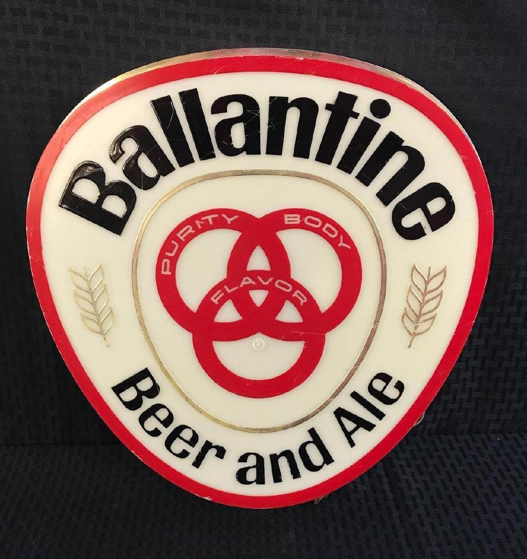 Ballantine Beer and Ale Light Up Sign
