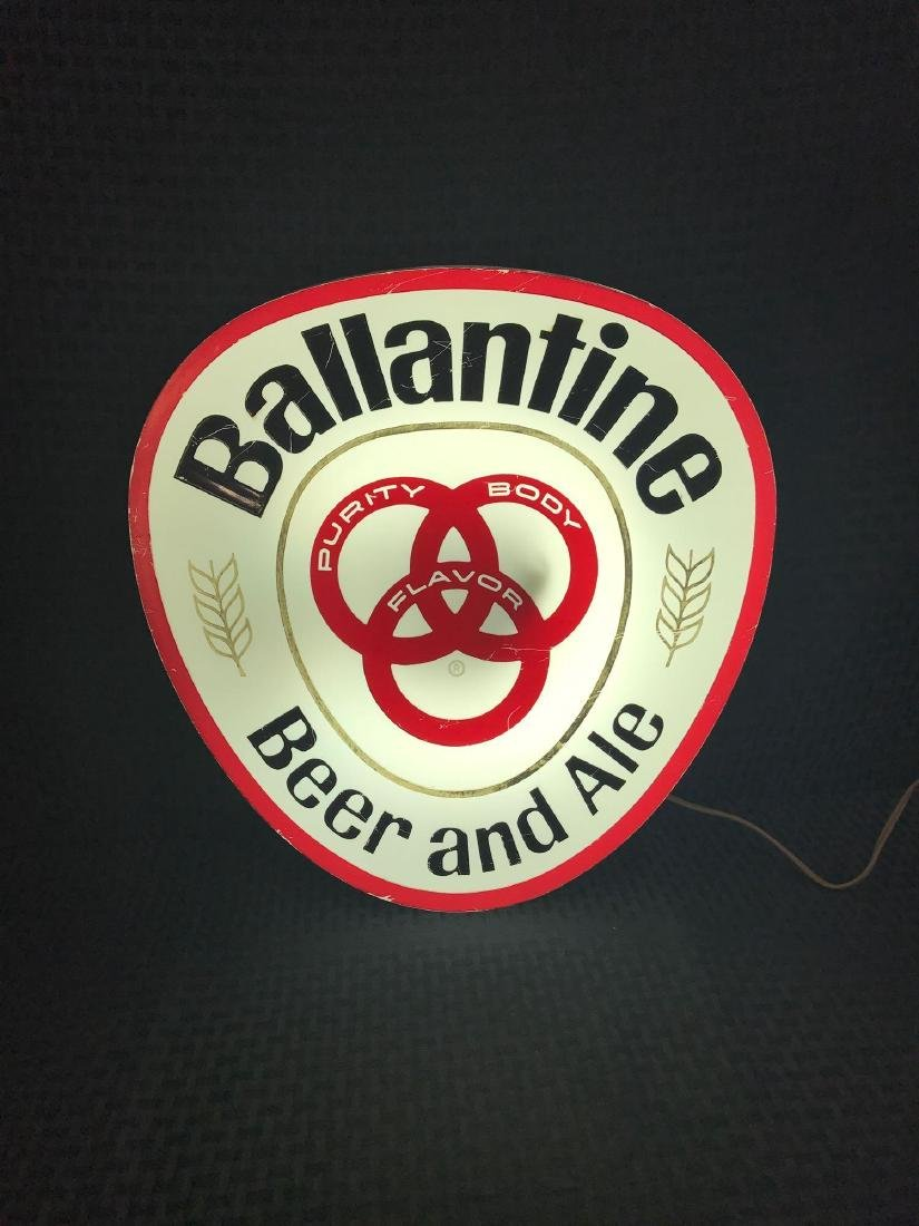 Ballantine Beer and Ale Light Up Sign - 3
