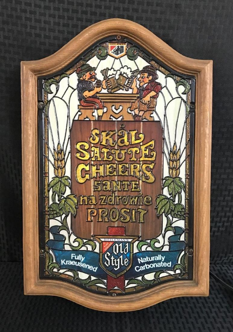 "Old Style Beer Light Sign ""Cheers"" - 2"