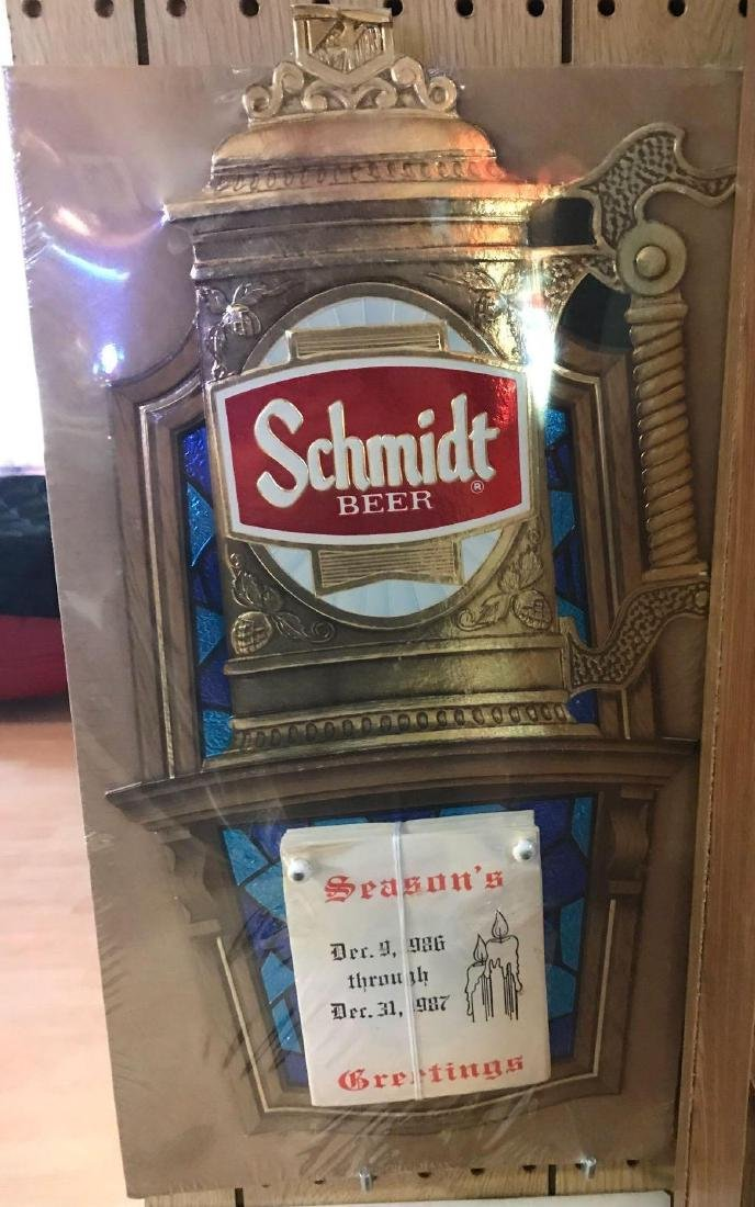 Vintage Schmidt Beer Advertising Calendar