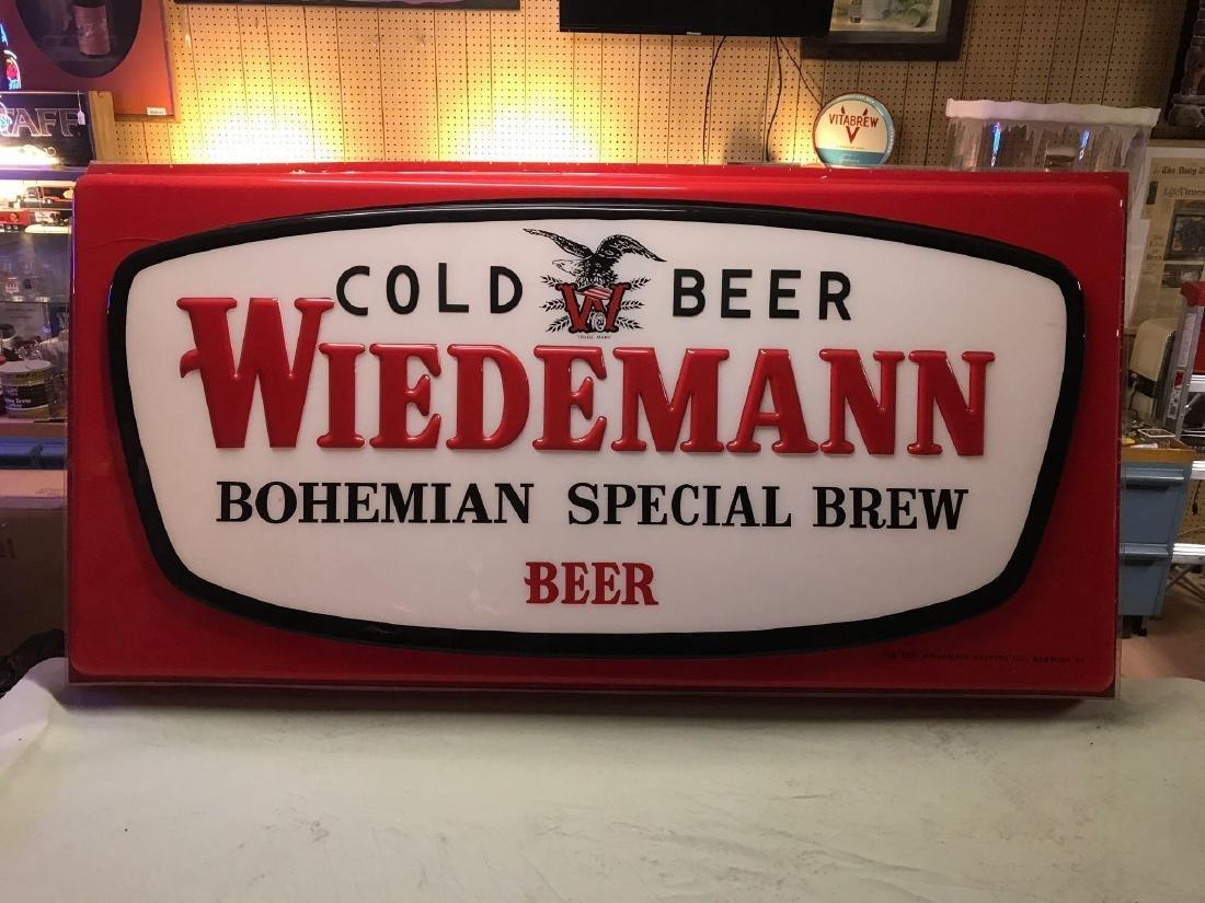 Weidemann advertising Extorior beer sign cover