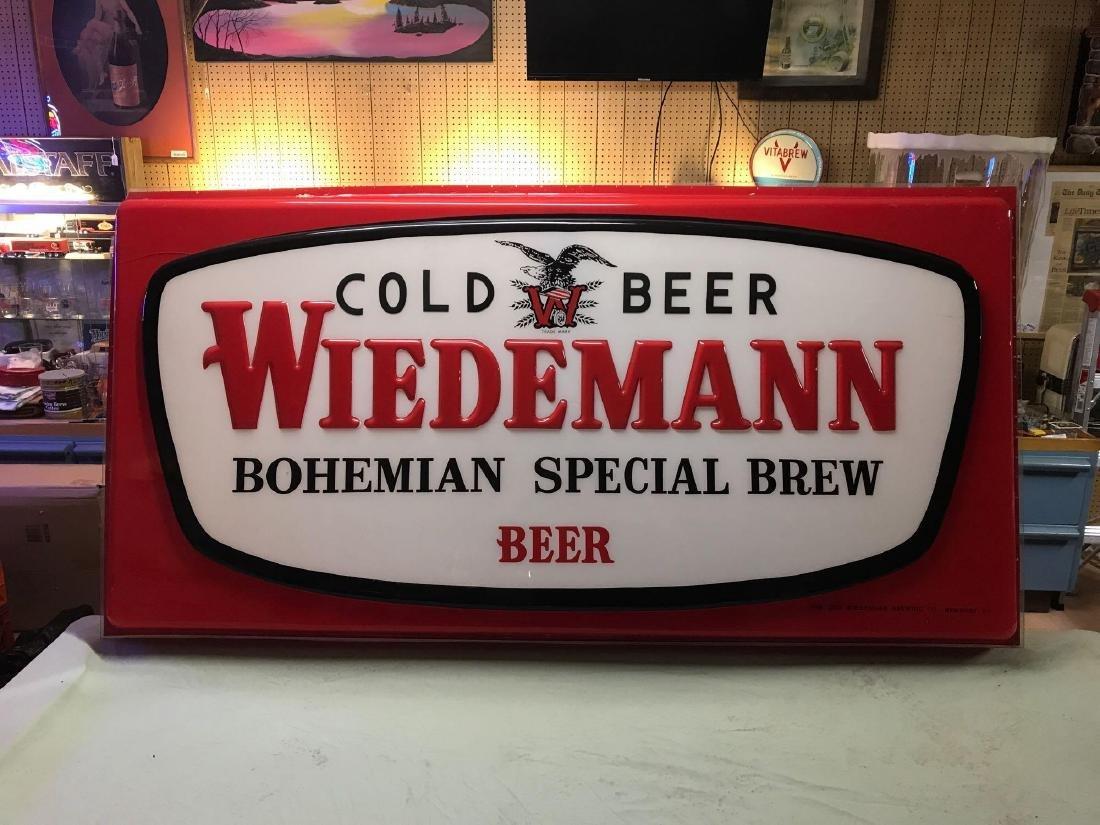 Weidemann advertising Extorior beer sign cover - 3