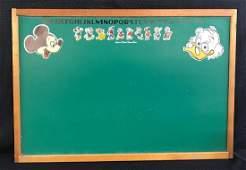 Walt Disney Mickey Mouse Chalkboard