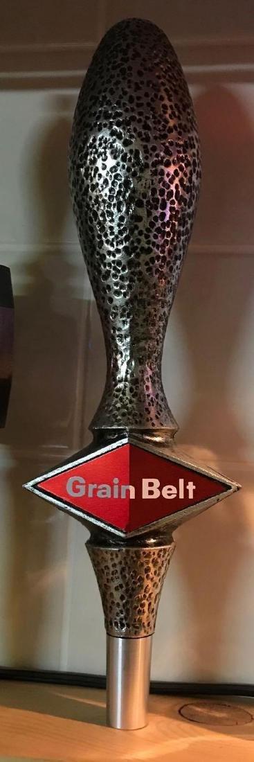 Grain belt advertising beer tapper