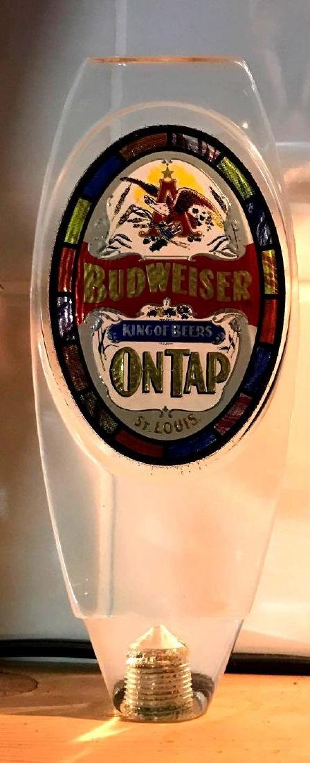 Budweiser advertising beer tapper