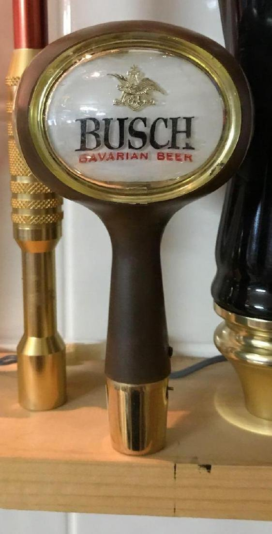 Busch Bavarian beer advertising beer tapper