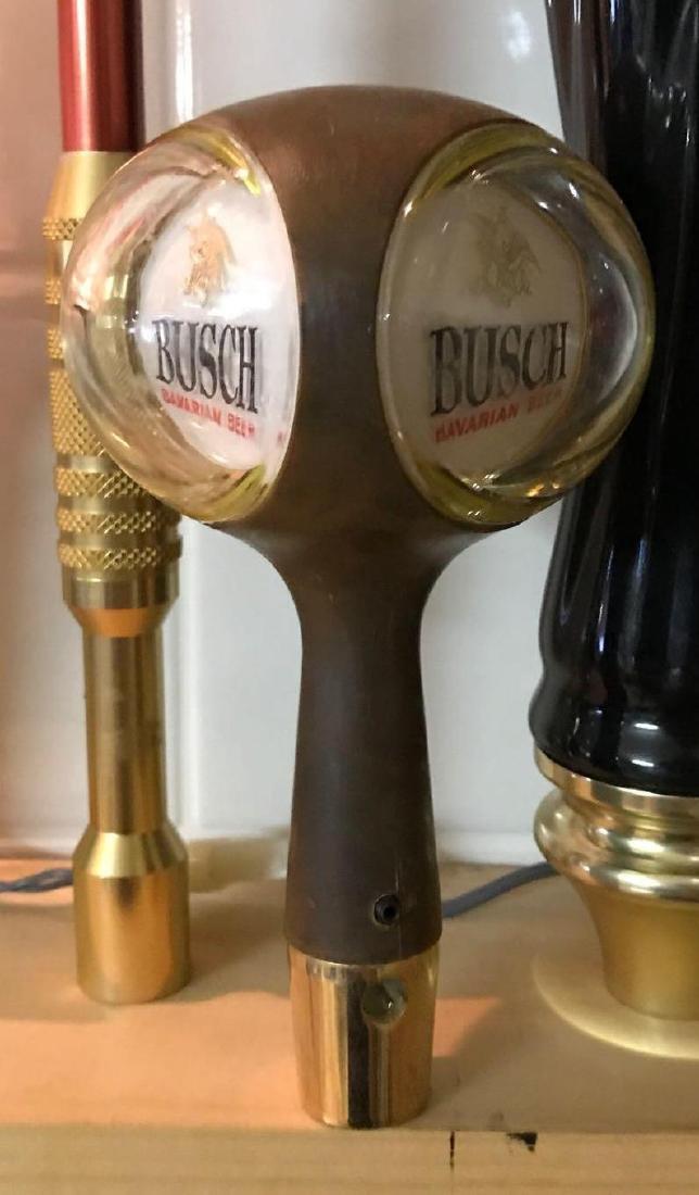 Busch Bavarian beer advertising beer tapper - 2