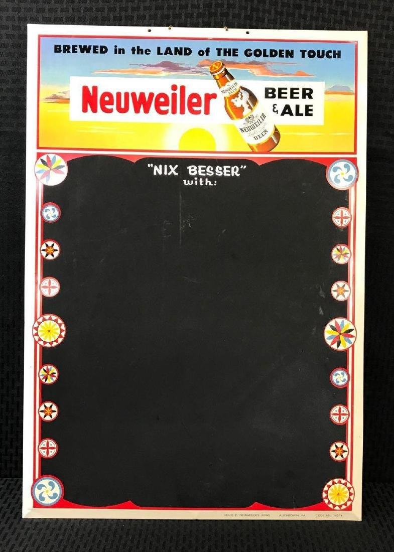 Neuweiler Beer Sign Chalkboard
