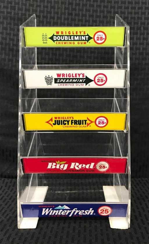 Wrigleys Chewing Gum Advertising Display Rack Custom Wrigley's Chewing Gum Display Stand
