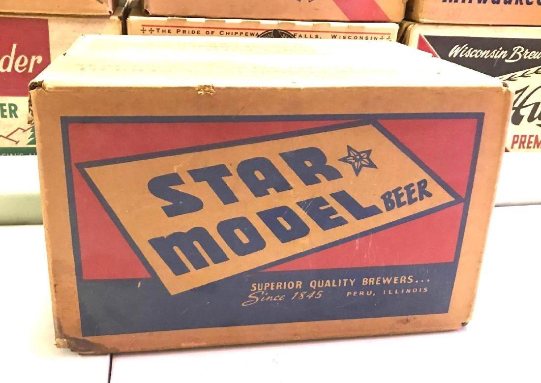 Vintage star model beer Peru Ill. 24 pack advertising