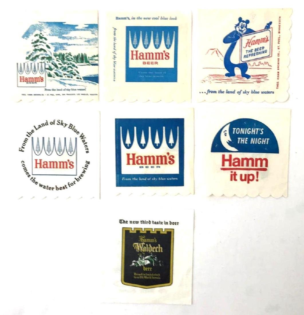 Group of Vintage Hamms Beer Advertising Coasters and - 7