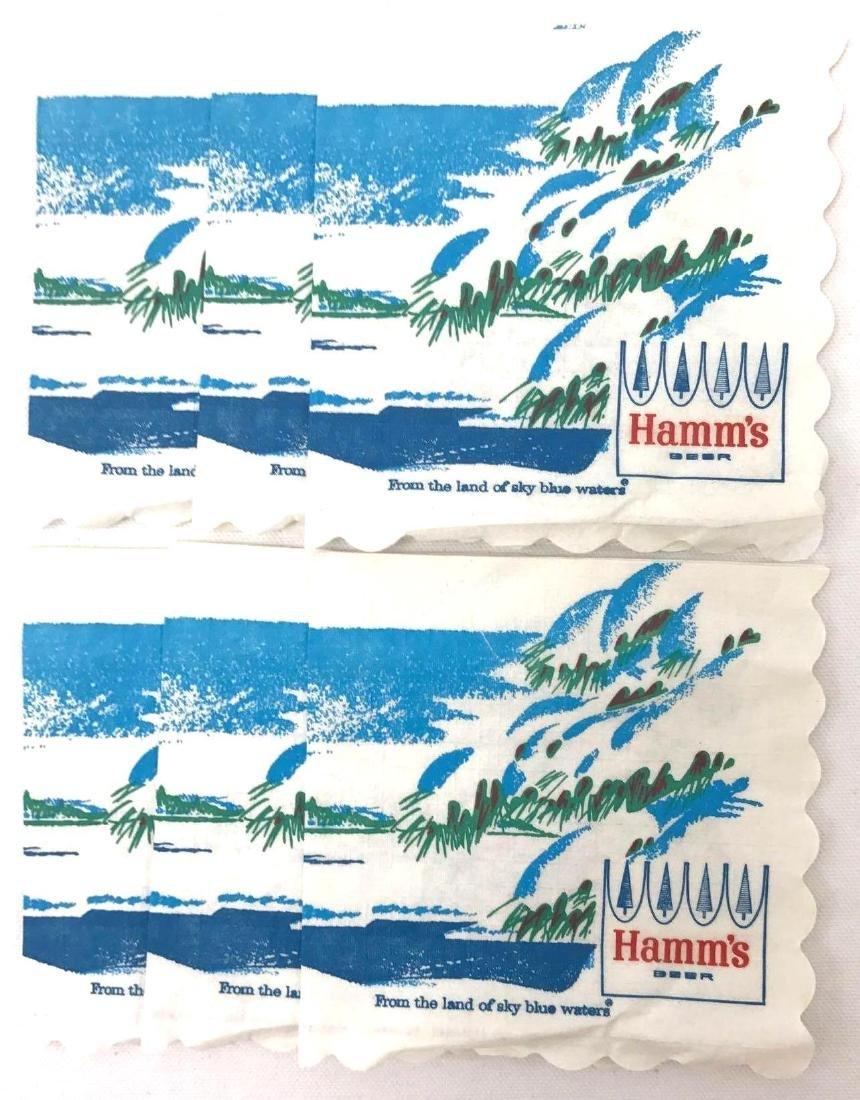 Group of Vintage Hamms Beer Advertising Coasters and - 8