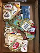 Group of Vintage Advertising Beer Labels and more