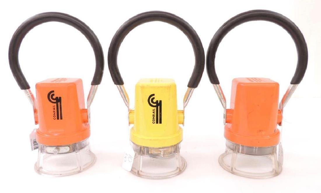 Three Plastic Starlite Lanterns