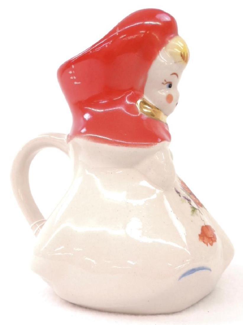 Hull Little Red Riding Hood Milk Pitcher - 3