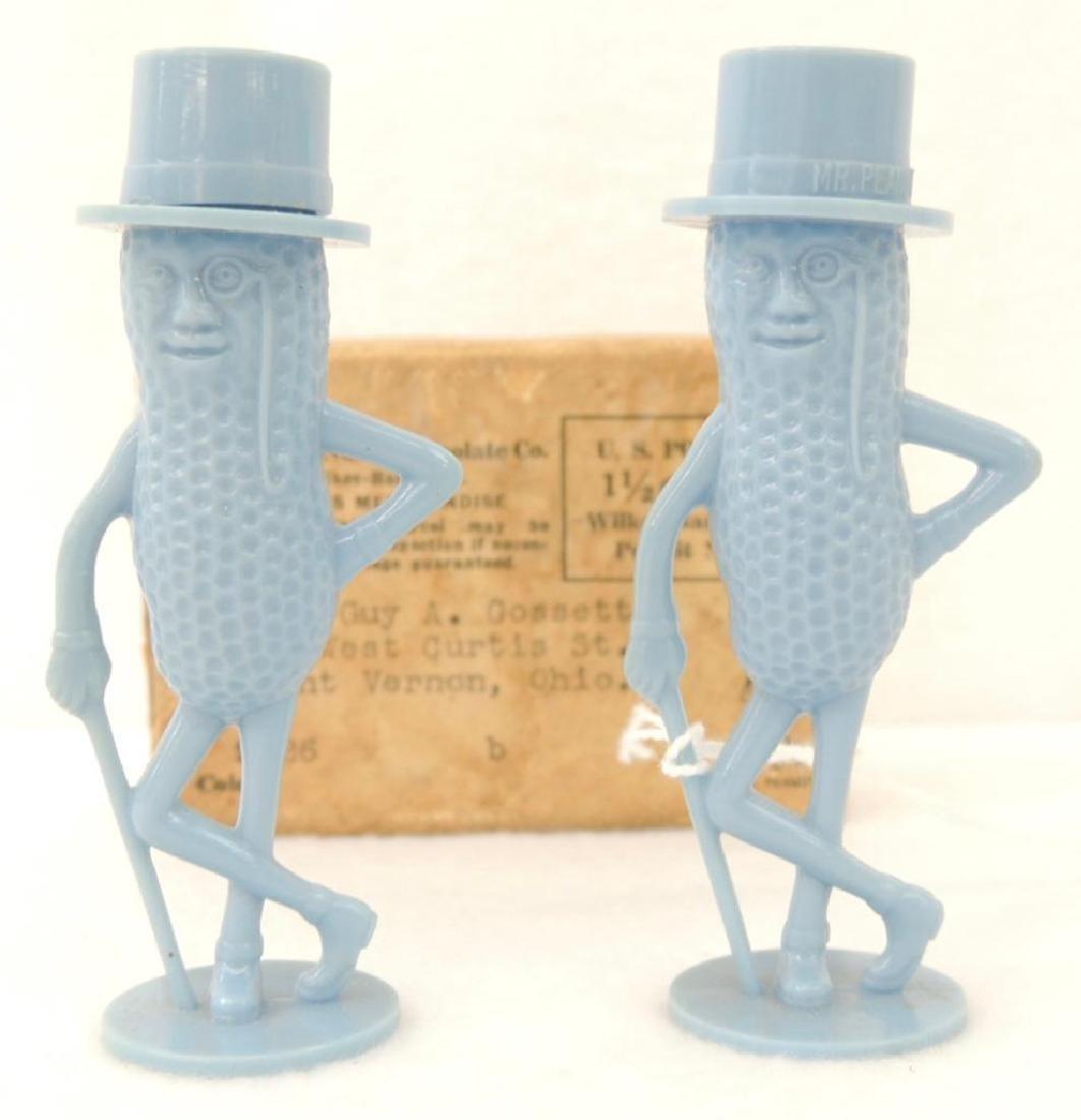 Blue Mr. Peanut S&P Shakers in Box