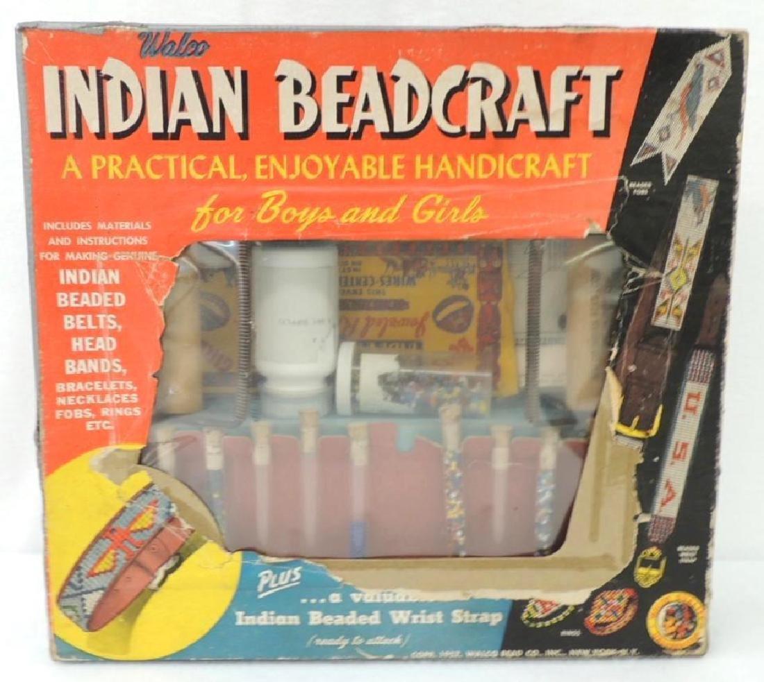 Vintage Indian Beadcraft Kit