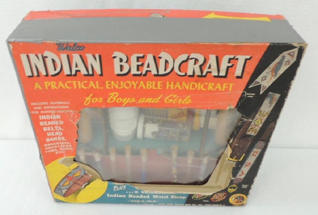 Vintage Indian Beadcraft Kit - 2