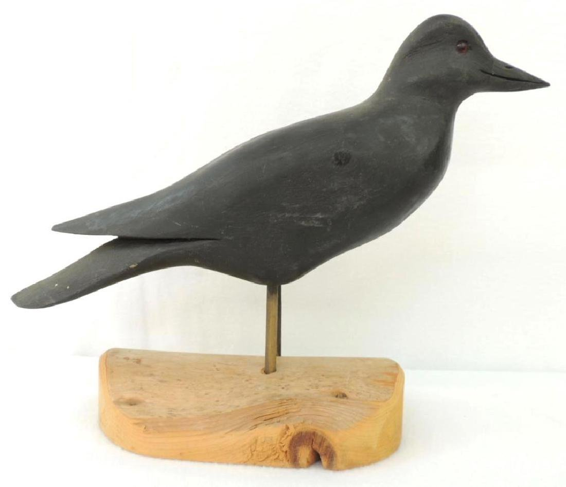 H V Shourds Carved Wood Crow - 2